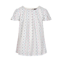 CREAMIE BLUSE COTTON DOT 820697