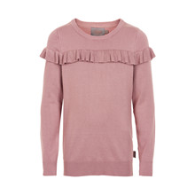 CREAMIE FRILL PULLOVER 820773 D