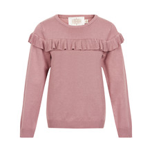CREAMIE FRILL PULLOVER 840028