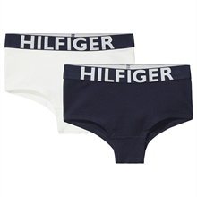 TOMMY HILFIGER BASIS SHORTY 2 pak - White/Navy