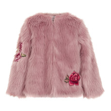CREAMIE FAUX FUR JACKET 840003