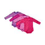 PIPPI BODYSTOCKING BABY 4-PAK 3819 P