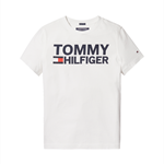 TOMMY HILFIGER ESSENTIAL GRAPHIC T-SHIRT BW