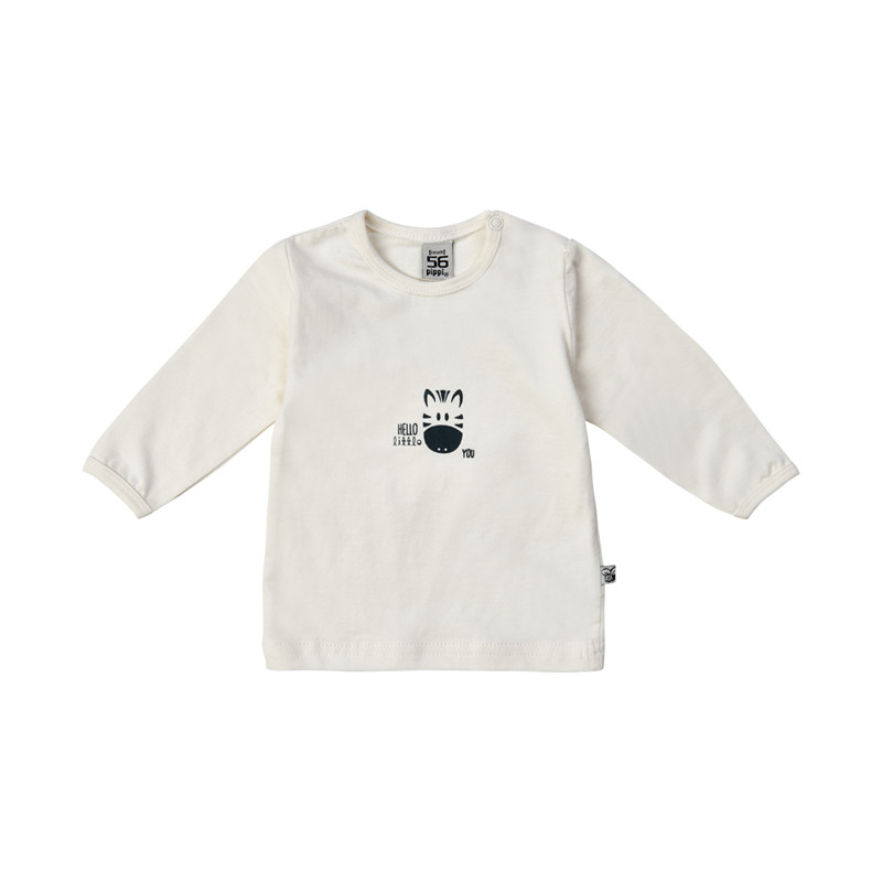 PIPPI BABY BLUSE BOMULD LS 4012 (White 100, 74)