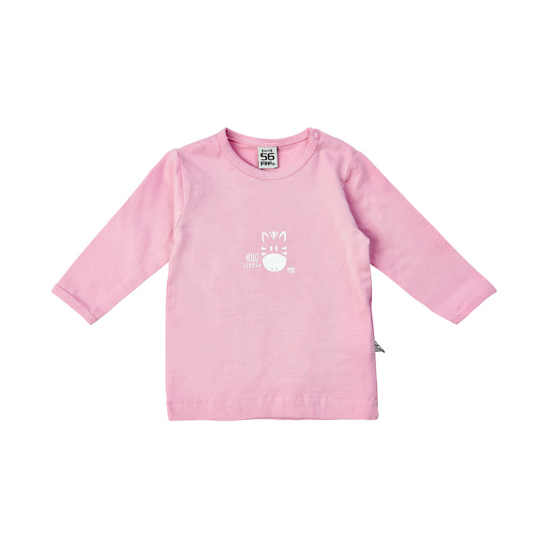 PIPPI BABY BLUSE BOMULD LS 4012 P (Pink 584, 74)