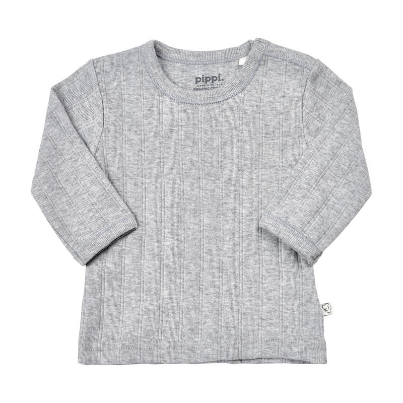 PIPPI BLUSE 4717 123 (Grey Melange 123, 68)