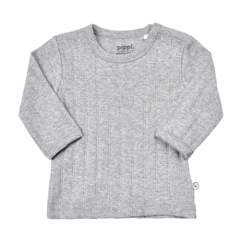 PIPPI BLUSE 4717 123 (Grey Melange 123, 74)