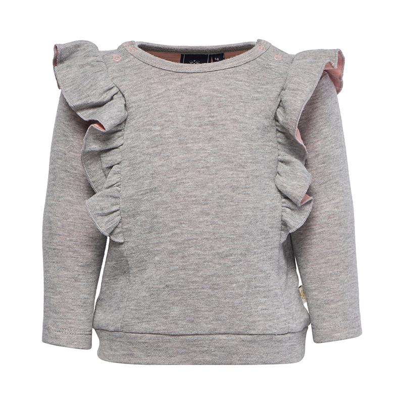 HUMMEL PALMA T-SHIRT L/S 201454 (Grey Melange 2006, 74)