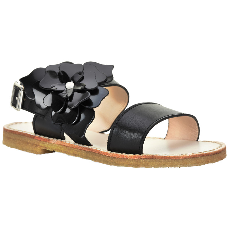 Image of   ANGULUS SANDAL 4413-101 (Black, 34)