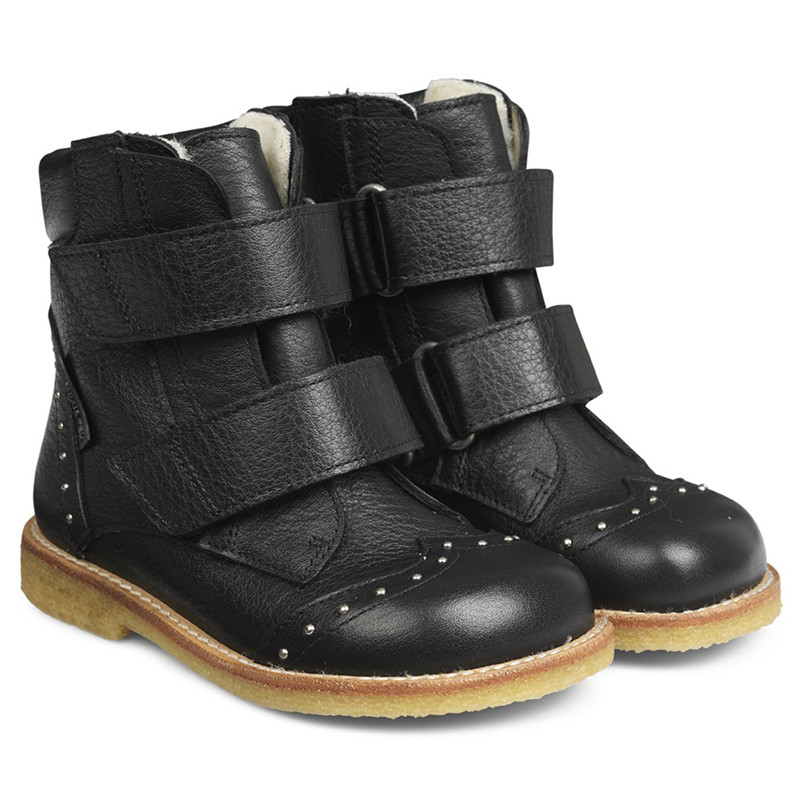 Image of   ANGULUS TEX BOOTS 2067-101 (Black, 23)