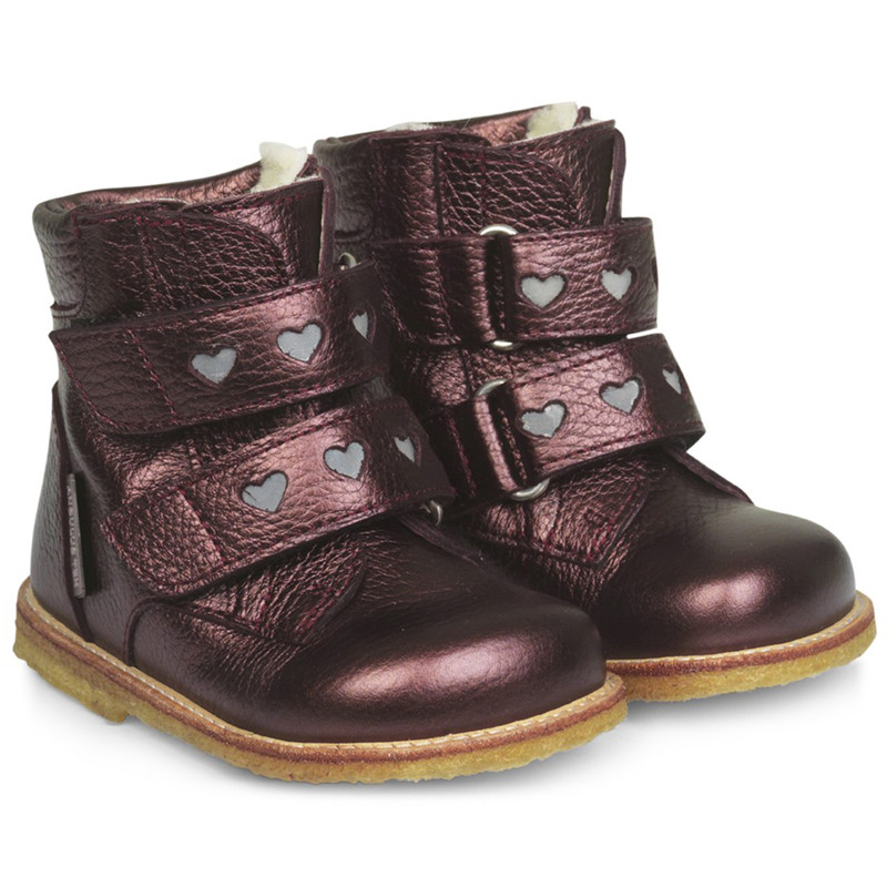 Image of   ANGULUS TEX BOOT 2074-101 (Bordeaux Shine, 22)