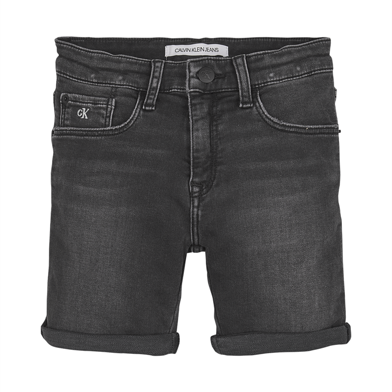 Image of   CALVIN KLEIN SLIM SHORTS 00416 1BY (Alhletic Black, 128)