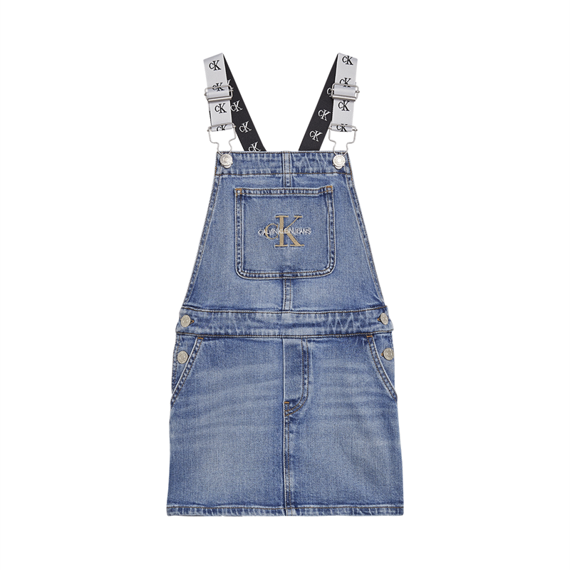 Image of   CALVIN KLEIN DUNGAREE KLOLE 00455 (Monogram Powdery, 140)