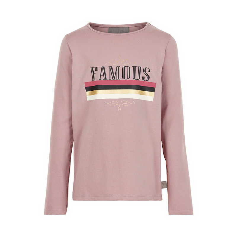 CREAMIE FAMOUS T-SHIRT 821529 5707 (Deauville Mauv 5707, 134)