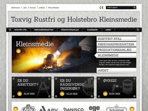 Toxvig Rustfri og Holstebro Kleinsmedie