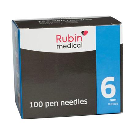 Rubin medical 6 mm penkanyle