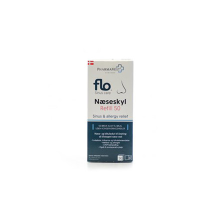 FLO Sinus care næseskyl refill 50 stk.