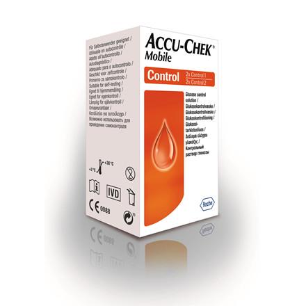 Accu-Chek Mobile kontrolvæske
