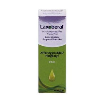 Laxoberal dråber 7,5 mg/ml