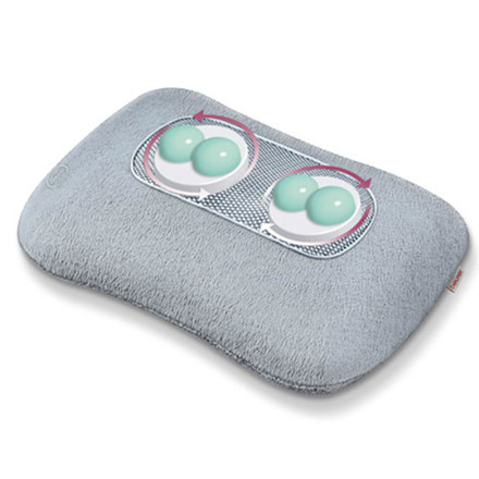 Massagepude m. shiatzu og varme