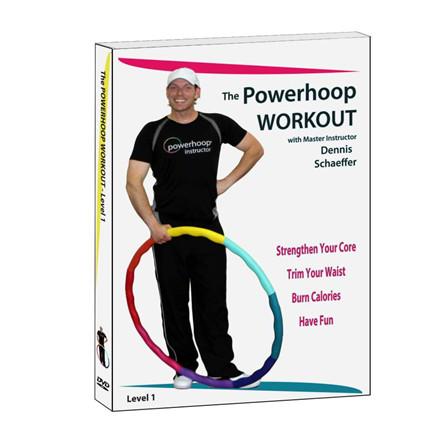 Powerhoop DVD workout, Engelsk/Tysk