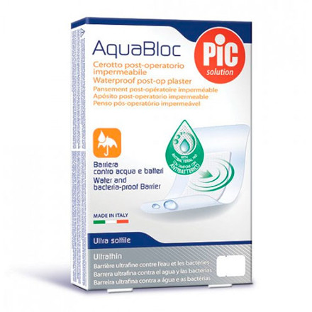 Aquabloc plaster 5 stk,  10x8 cm.
