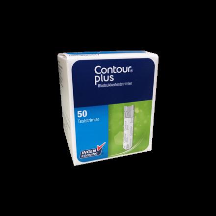 Contour® Plus teststrimler
