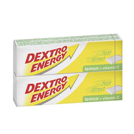 Dextro Energy Lemon druesukker, 2 x 14 Stk.