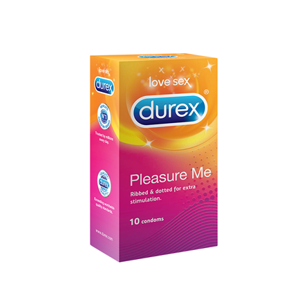Durex Pleasure Me kondomer, 10 stk