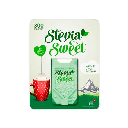Hermesetas SteviaSweet Sødetabletter, 300 stk.