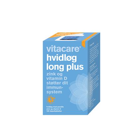 VitaCare Hvidløg Long Plus, 120 depottabletter