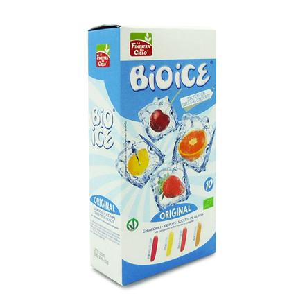 Ice Pops Original uden tilsat sukker,  10 stk. Økologisk.