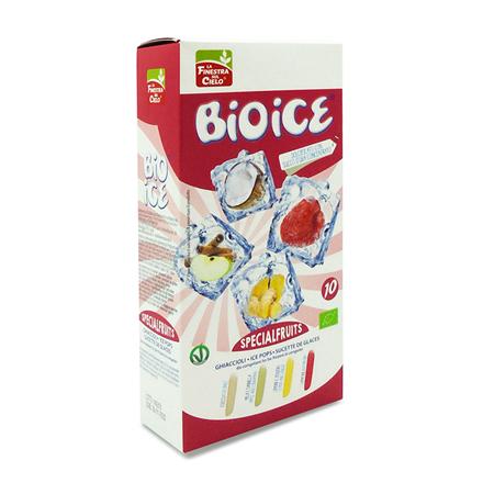 Ice Pops Special-frugt uden tilsat sukker 10 stk. Økologiske