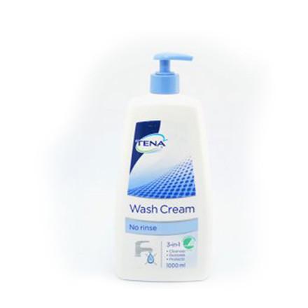 TENA vaskecreme 3in1 m/pumpe, 1000 ml.