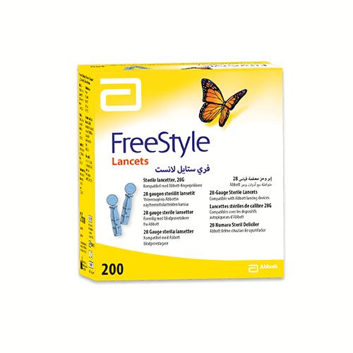 FreeStyle Lancetter 28G, 200 stk.