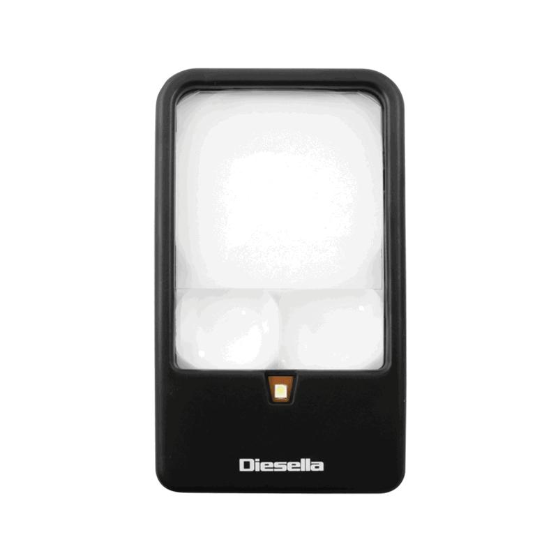 LED håndlup 3X, 5X og 7X forstørrelse