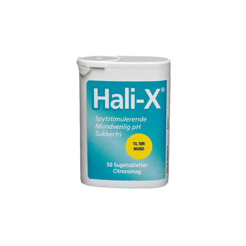 Hali-X Sugetablet, 50 stk.
