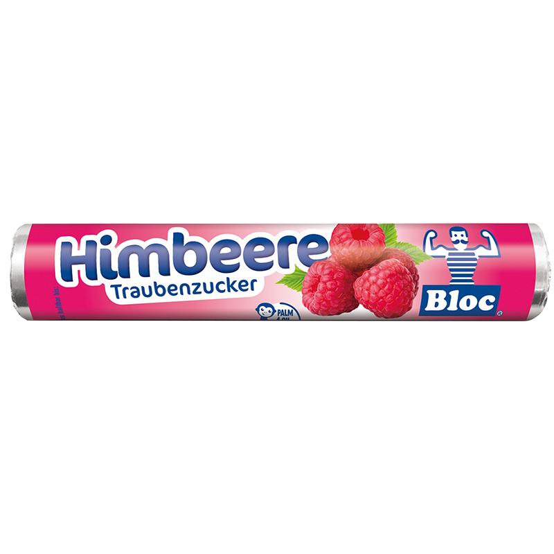 Bloc Druesukker - Hindbær