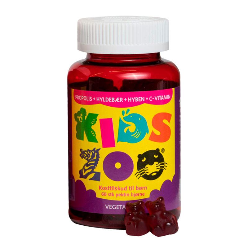 Kids Zoo Propolis + C 60 stk.