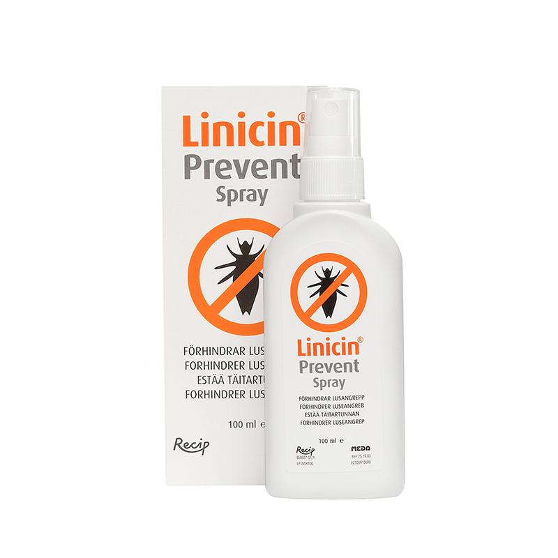 Linicin Prevent, forebyggende lusemiddel, 100 ml.