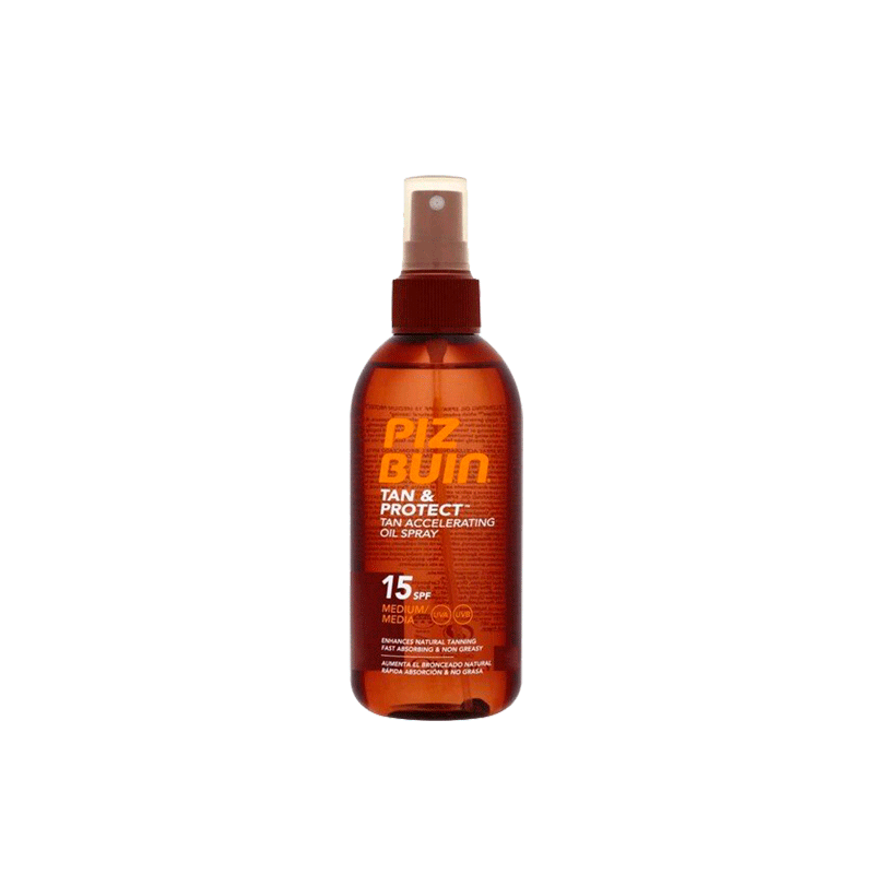 Piz Buin Tan & Protect Oil Spray SPF15 150 ml.