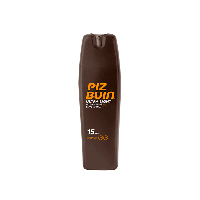 Piz Buin Ultra Light Spray SPF15 200 ml.