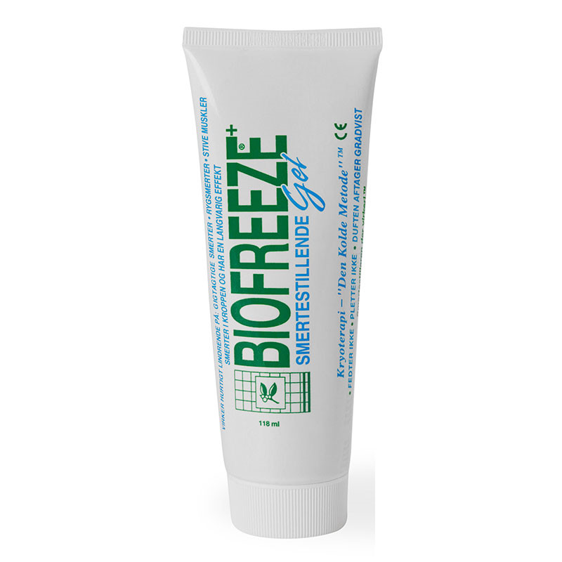 Biofreeze kølende gel, 118 ml.