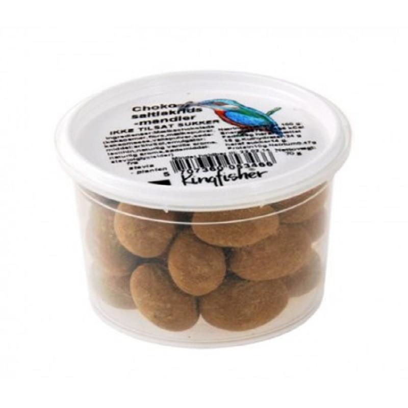 Stevia Mandler med Chokolade og Salt Lakrids