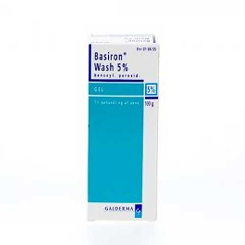 Basiron Wash gel 5%, 100 g
