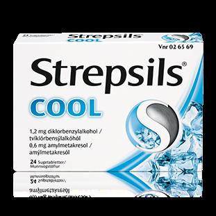 Strepsils Cool sugetabletter, 24 stk.
