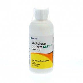 Lactulose Orifarm 250 ml.
