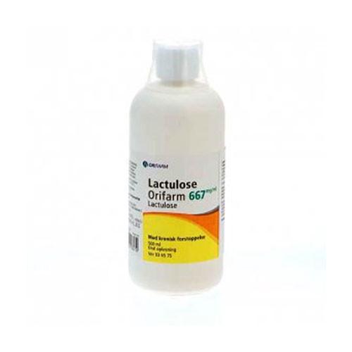 Lactulose Orifarm 500 ml.