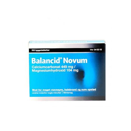 Balancid Novum, 100 stk.