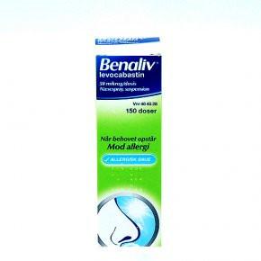 Benaliv næsespray 50 mikg/dosis